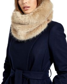 Shayla Faux fur snood