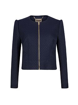 Ted Baker Zumia Metallic dot suit jacket