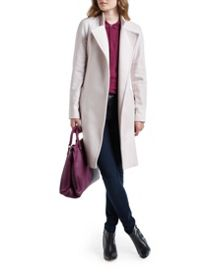 Appia Long Wool Wrap Coat