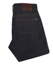 Shail straight fit selvedge jeans