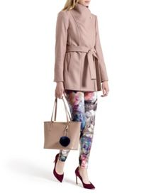 Paria Short Wrap Coat