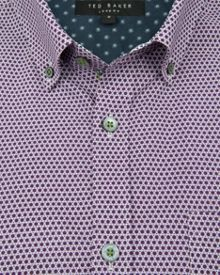 Ted Baker Lonmaul Circle print shirt