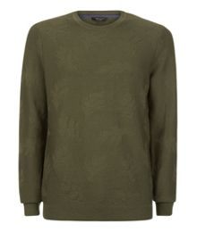 Ted Baker Feelix Jacquard Crew Neck Jumper