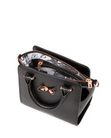 Perie Mini patent leather tote bag