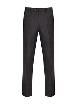 Edetro Micro Design Wool Suit Trousers