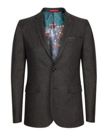 Ted Baker Edeson Micro design wool suit jacket
