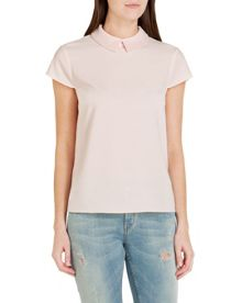 Hellia Embellished Collar Top