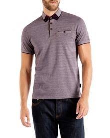Taytay Block Colour Oxford Polo Shirt