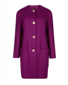 Mawd Wool cocoon coat