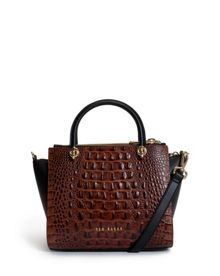 Cicily Exotic leather tote bag
