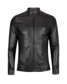 Lapeer leather jacket