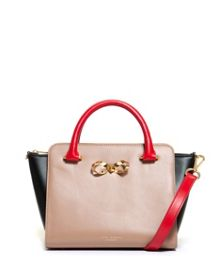 Charley Colour block leather tote bag
