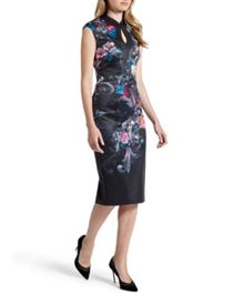 Ted Baker Marcela Acanthus Scroll print dress