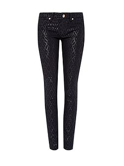 Ted Baker Aninna Metallic diamond effect trousers