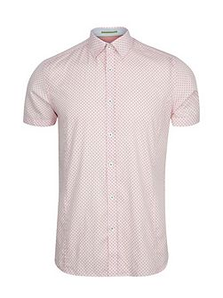 Paletwo Pattern Short Sleeve Shirt