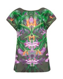 Taifi Patterned Paradise T-shirt