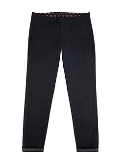Mantrap Slim Fit Mini Design Trousers