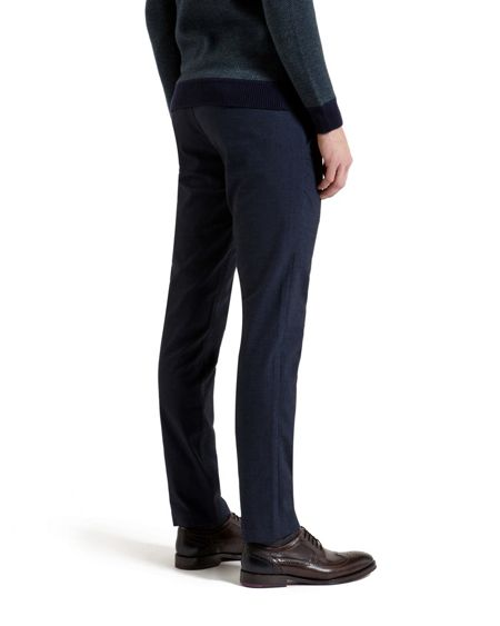 Ted Baker Mantrap Slim Fit Mini Design Trousers