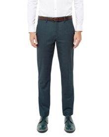 Ted Baker Edetro Micro design wool suit trousers