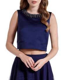 Ted Baker Emmilye Cropped embellished top