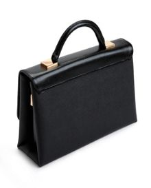 Marilyn Crosshatch leather tote