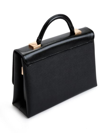 Ted Baker Marilyn Crosshatch leather tote
