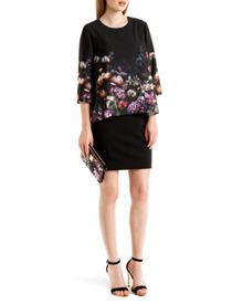 Atieno Shadow Floral tunic dress