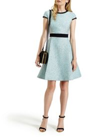 Qiara Jacquard dress