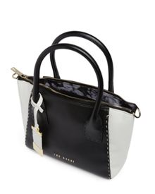 Dannie leather tote bag