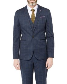 Ted Baker Lavista checked blazer