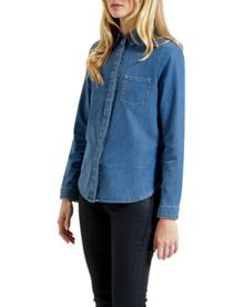 Marysa chambray shirt