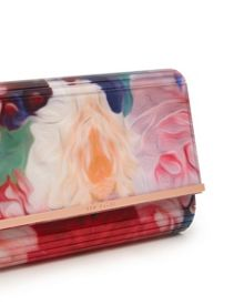 Floriza Floral Swirl resin clutch bag