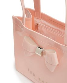 Didicon Bow detail small shopper bag