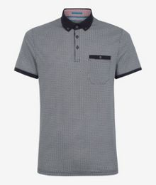 Rayvie Printed Polo Shirt