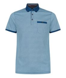 Ted Baker Rayvie Printed Polo Shirt