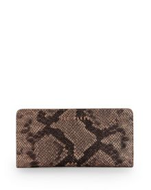 Bronwyn Exotic leather matinee purse
