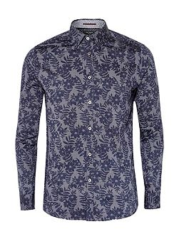 Men's Ted Baker Twoaces tropical print shirt