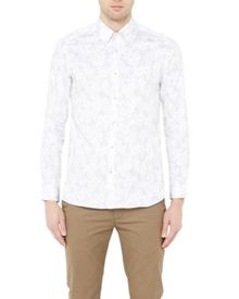 Ted Baker Twoaces tropical print shirt