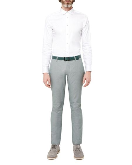 Ted Baker Myplan Satin Stretch Shirt