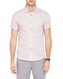 Ted Baker Teeger diamond cotton shirt