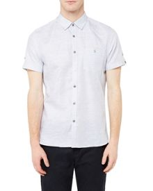 Ted Baker Mysong Striped Cotton Shirt
