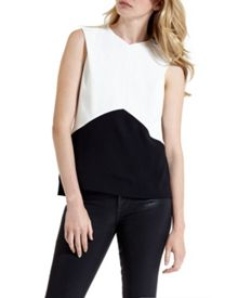 Ortelia Geometric Colour Block Top