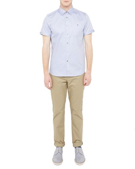 Ted Baker Beachee Short Sleeved Oxford Shirt