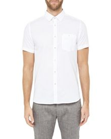 Ted Baker Liming Textured Linen Shirt