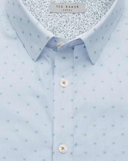 Ted Baker Forsets Coupe Cotton Shirt