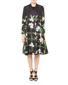 Ted Baker Giova Secret Trellis Textured Coat