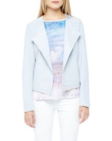 Ted Baker Fabinel Suede Waterfall Jacket