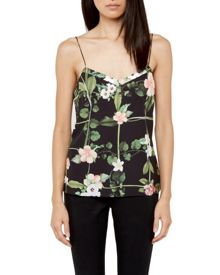 Cynaria Scalloped edge cami