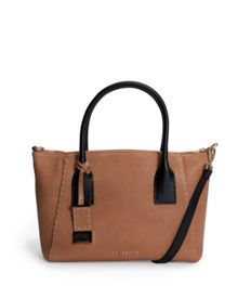 Paigee Large leather tote bag