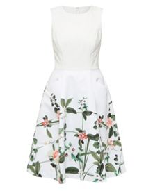 Ted Baker Karolie Secret Trellis print dress